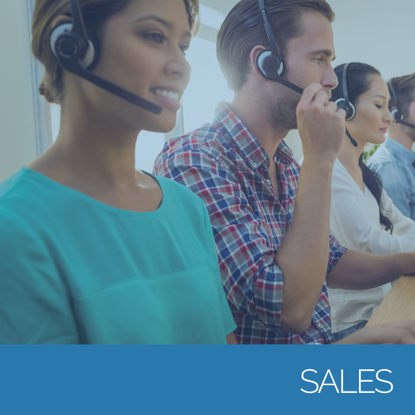 Happy outsourced sales teams